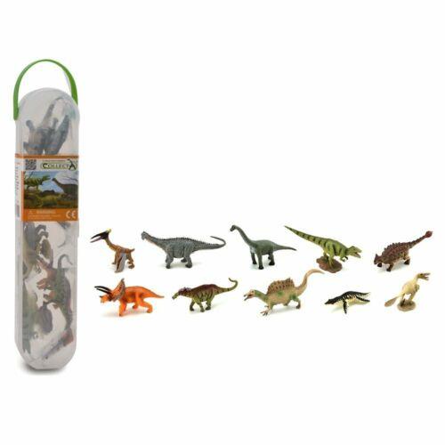 Scatola Mini Dinosauri CollectA statuina da collezione elegante Learning