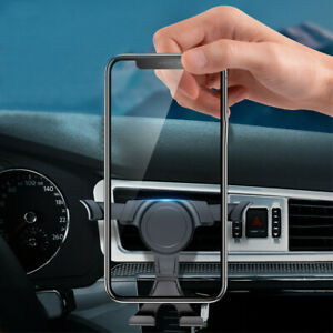 Universal Gravity Car Air Vent Mount Cradle Holders Stand For Cell Phone GPS