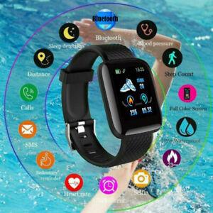 Smart-Watch-Bluetooth-Heart-Rate-Oxygen-Blood-Pressure-Sport-Fitness-Tracker-NEW