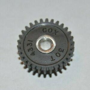 1960-039-s-Cox-30-Tooth-Spur-Gear-48-Pitch-Original-Vintage-Slot-Car-NOS-30T-slot