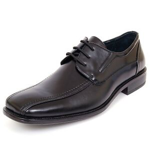 Mens-Dress-Shoes-Lace-up-Oxfords-Leather-Lined-Baseball-Stitching-Free-Shoe-Horn
