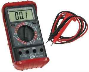 Digitales-Multimeter-automatische-Polaritaetsanzeige-Elektronik-Messtechnik-top