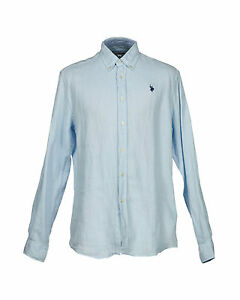 Assn Colletto Lino down Primavera s Camicia U polo Button Di estate w7OYnqPX