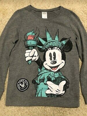 Disney Store Women's Mickey Mouse New York City Sweatshirt ...