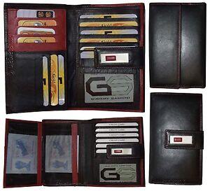Damen Brieftasche Leder Scheckheft Echtleder-geldbörse Geldbörse 1 Ein GefüHl Der Leichtigkeit Und Energie Erzeugen Kleidung & Accessoires