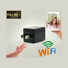 1080P WIFI USB SPY HD Camera Hidden Wall Phone Charger US AC Adapter Plug DVR