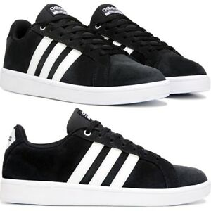 7ed7aa1f34fc6 Adidas CLOUDFOAM ADVANTAGE STRIPE SUEDE Men s Sneakers Lifestyle ...