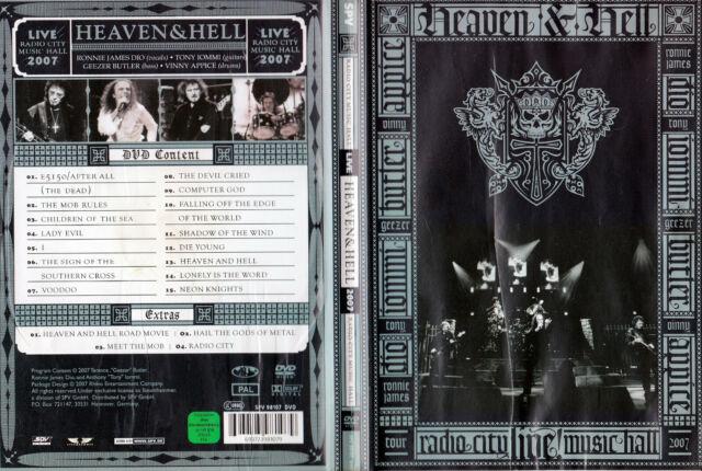 Heaven & Hell - DVD - Live From Radio City Music Hall - DVD von 2007 - Neuwertig