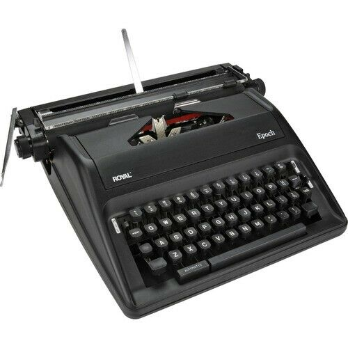 Collectibles Royal Epoch Portable Manual Typewriter GRAY COLOR ...