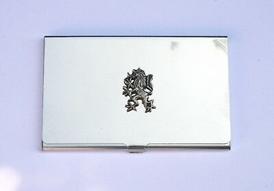 KüHn Rampant Lion Metal Card Holder Pocket Size Ideal Scottish Present 294