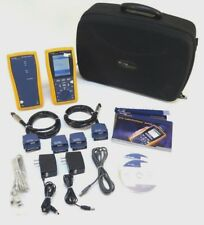 Fluke Dtx 1800 Cat 6a Cable Analyzer With Accessories Dtx Pla002 Dtx Cha002