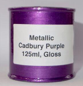 Image Is Loading 125ml Cadbury Purple Gloss Caliper Heat Resistant Paint