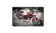 1984 rd350 ypvs Bike Motorcycle A4 Retro Metal Sign Aluminium
