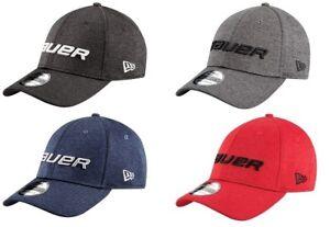 Bauer New Era 39THIRTY Shadow Tech Hat Stretch Fit Flex Back Cap Hat ... 573f95860a4