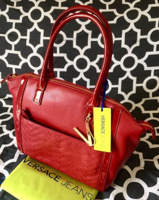 a3f26c13b4a  495 BNWT Versace Jeans Handbag Shoulder Bag - Authentic with Dust ...