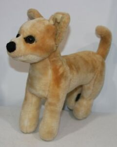 Melissa Doug Chihuahua Dog Stuffed Animal Plush 13 5 Tall Free