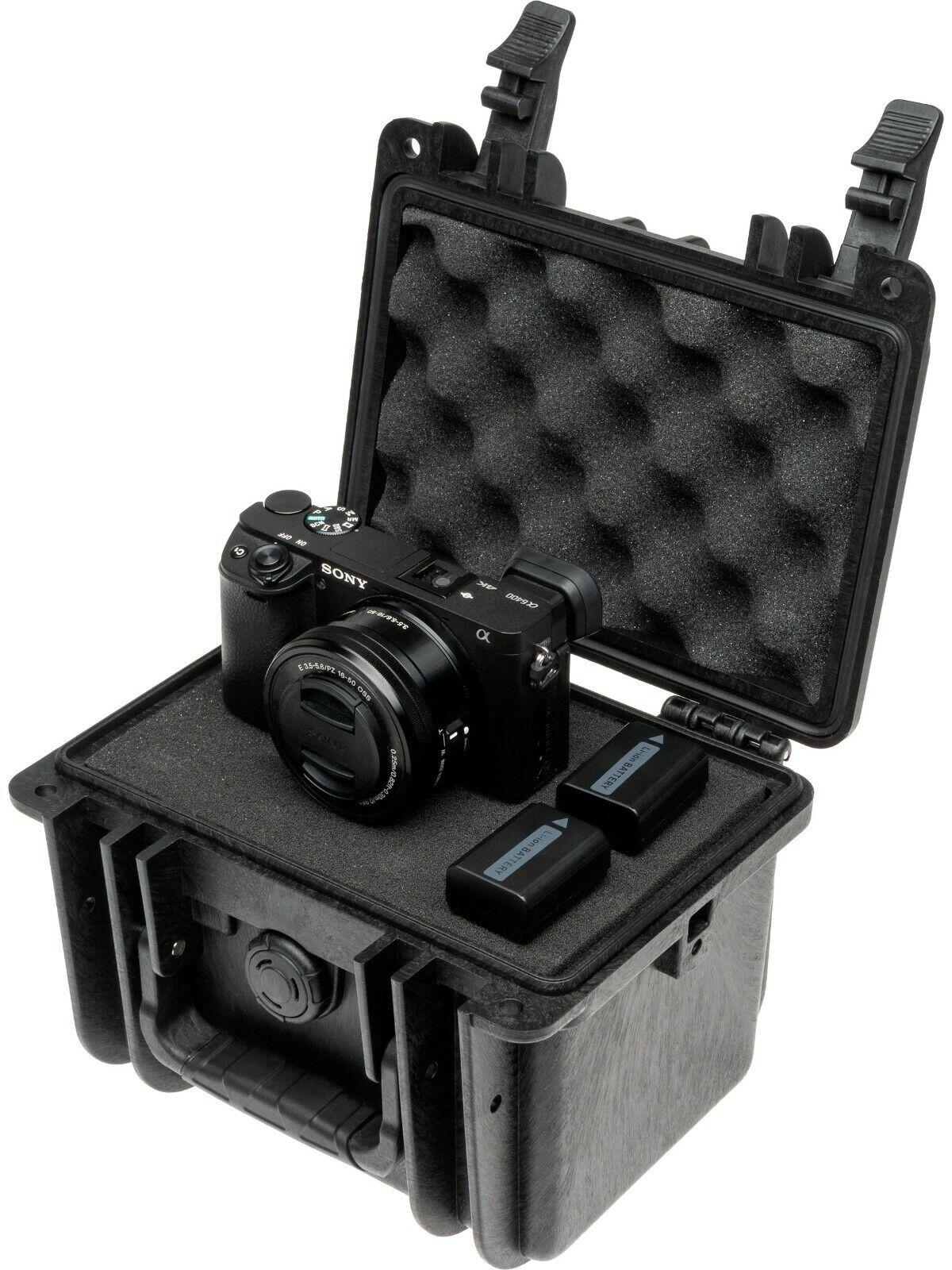 Waterproof Portable Camera Case With Handle (19.30 x 17.20 x 14.20cm)(No. 318)