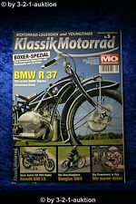 Klassik Motorrad 5/10 BMW R37 Benelli 500 LS Suzuki GSX-R 750 R