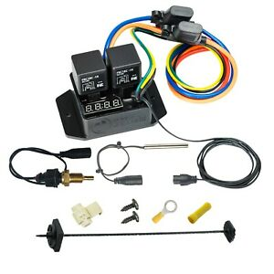 Digital-Thermatic-Fan-Switch-With-1-4-034-NPT-Thermal-Sensor-Kit-PART-0445