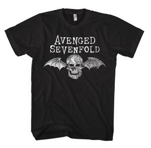 Avenged Sevenfold /'Death Bat Logo/' T-Shirt NEW /& OFFICIAL!