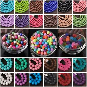 Wholesale-Solid-Colors-Round-Glass-Loose-Spacer-Beads-lot-4mm-6mm-8mm-10mm