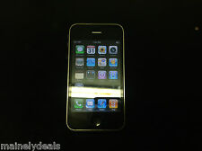 Apple iPhone 3G A1241 MB702LL/A 8GB Black AT&T Tested Works AS IS