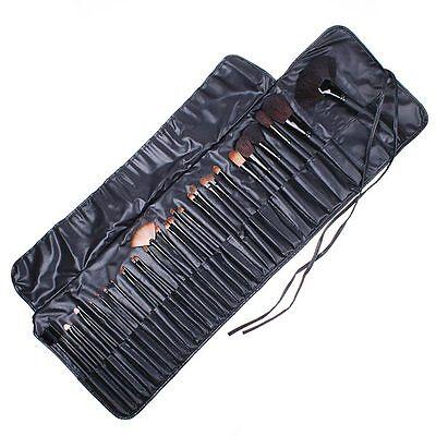 32 PCS Conjunto de Cepillos de Maquillaje + Bolso Negror Makeup Brush Set Black