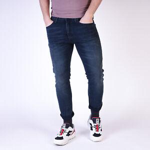Levi-s-512-Slim-Taper-Sharkley-Indigo-Blau-Herren-Jeans-34-30