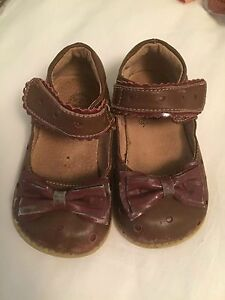 Livie \u0026 Luca Toffee Dolly Shoes (Size 7