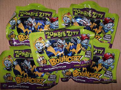 5 Cartocci Zombie Zity * Bouncerz * Nuovo * Ovp * (1)-mostra Il Titolo Originale Bianchezza Pura