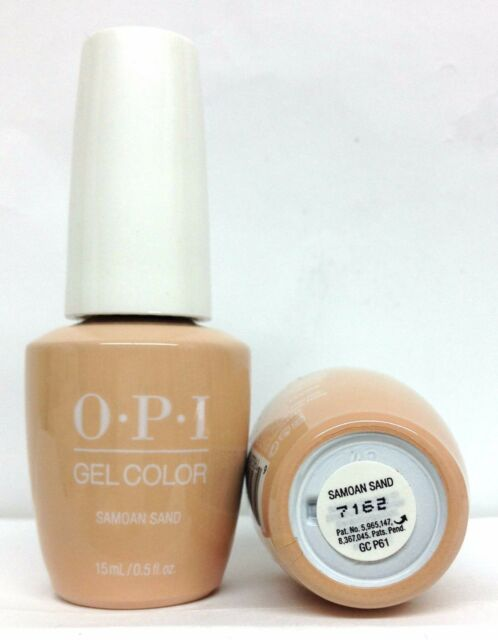 Gelcolor Soak off Nail Polish- GC P61 Samoan Sand OPI .5oz/15ml for ...