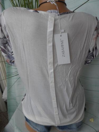 Zabaione Bluse Shirt Gr XXL Kurzarm S NEU 744