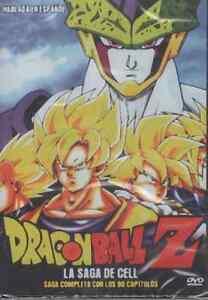 DRAGON-BALL-Z-DVD-LA-SAGA-DE-CELL-En-Espanol-SPANISH-80-EPISODIOS-NEW-AND-SEALED