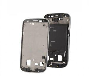 Rahmen Zentrale Gehäuse Body Mittlere Für Samsung Galaxy S3 i9300 Grau Metall