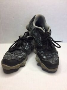 7e7d1a7bc69 Reebok 023501 414 Men s Running Shoes Black and Gray Size 6