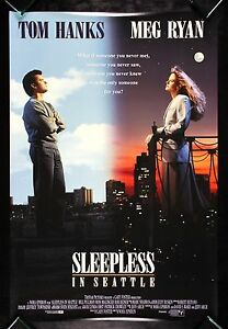 SLEEPLESS-IN-SEATTLE-CineMasterpieces-1SH-ORIGINAL-MOVIE-POSTER-DOUBLE-SIDED