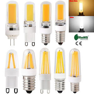 Dimmable g4 g9 e14 4w 8w 9w cristallo in silicone for Lampadine a led g4