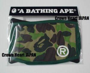 d50cd9164 New A BATHING APE ABC CAMO MASK Face Mask Green Authentic BAPE Japan ...
