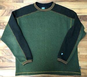 423f420cd60 Image is loading KUHL-Alf-Alfpaca-Fleece-Crewneck-Pullover-Sweatshirt- Sweater-