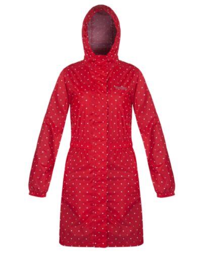 RRP £45 REGATTA LADIES WOMENS LIGHTWEIGHT WATERPROOF BREATHABLE LONG JACKET Pip