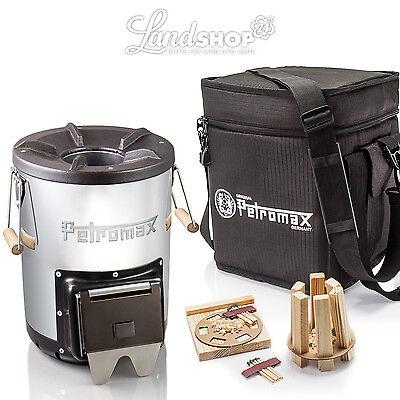 Petromax Raketenofen /'rf 33 Holzofen Kocher optional auch mit Tasche