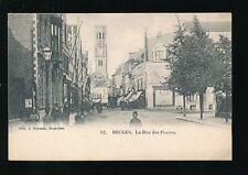 Belgium West Flanders BRUGES La Rue des Pierres c1902 u/b PPC