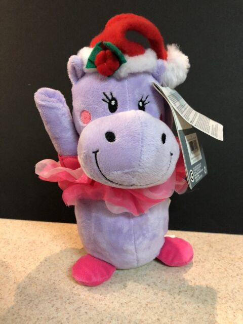 Hippo For Christmas.Gemmy Animated Swirling Twirlers Hippo I Want A Hippopotamus For Christmas 10