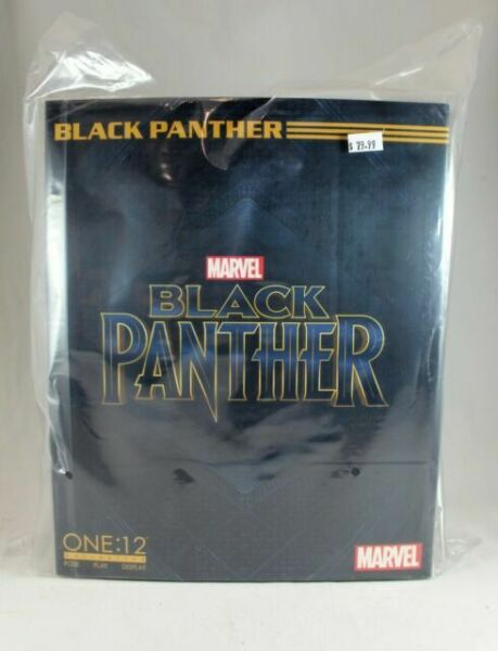 MEZCO Toys ONE:12 COLLECTIVE Black Panther Movie 6 inch figure