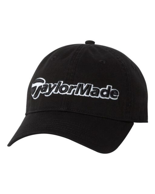 TaylorMade 3-D GOLF Cap BASEBALL Hat Mens Tour Adjustable unstructured fit