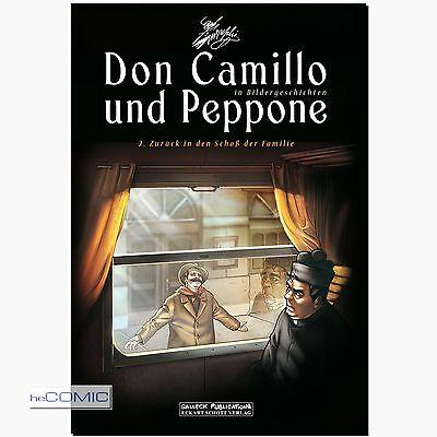 Don Camillo und Peppone 2 in Bildergeschichten Guareschi COMIC FUNNY Satire NEU