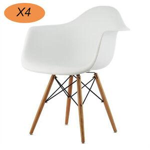 4er-Esszimmerstuhl-Buero-Sessel-Kunststoff-Wohnzimmer-Wohnzimmer-Weiss-Cafe-Stuehl