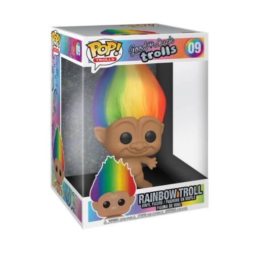 Trolls Vinyl Figure Rainbow Troll #09 Super Size 25cm Funko POP