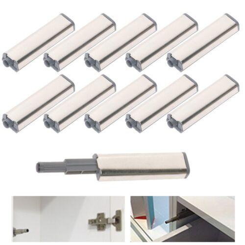 10x Cabinet Door Drawer Push to Open System Damper Buffer Catch Latch