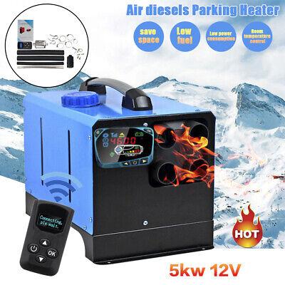 5KW Air Heater Luftheizung Diesel Standheizung Heizung LKW Schalldämpfer Blau